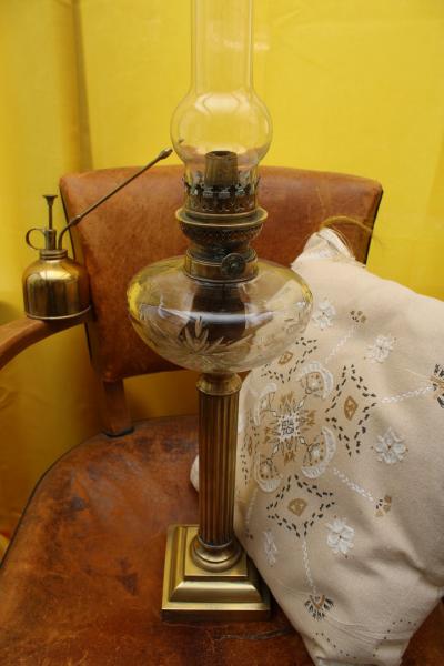 Ancienne lampe à pétrole