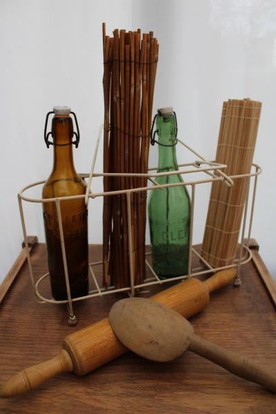 Porte-bouteilles métallique