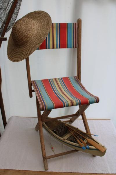 Petite chaise pliante