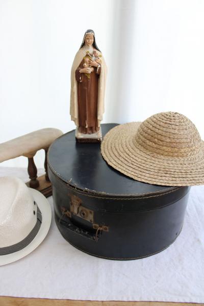 Ancienne boîte à chapeaux